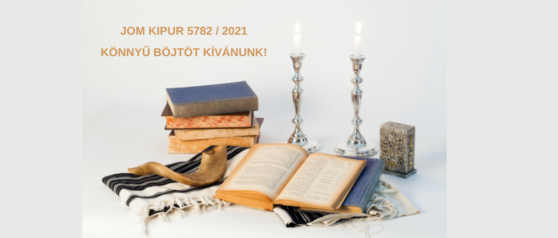 Ma este beköszönt Jom Kipur, a bűnbocsánat napja