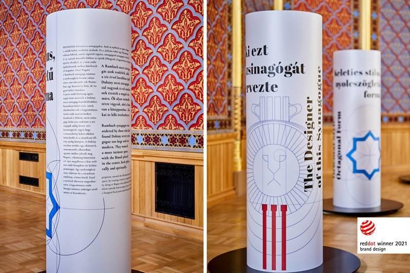 """Rumbach: """"Piros Pont"""" a vizuális tervezőknek   Mazsihisz"""