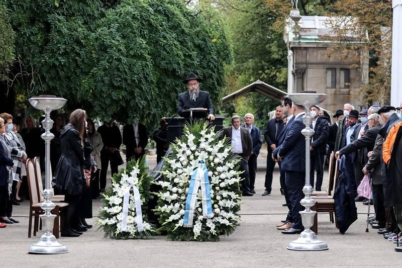 Több százan kísérték utolsó útjára Zoltai Gusztávot   Mazsihisz