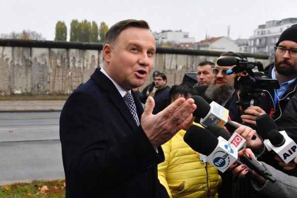 Megsértődött a lengyel államfő, és nem utazik Jeruzsálembe