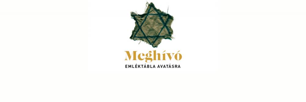 Meghívó: Emléktábla avatás Kistarcsán   Mazsihisz