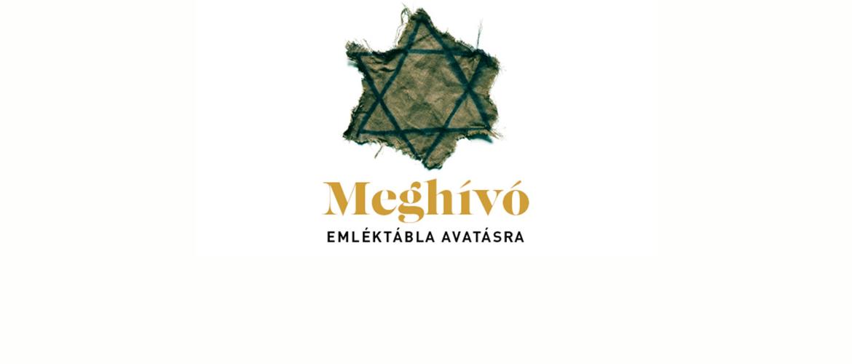Meghívó: Emléktábla avatás Kistarcsán