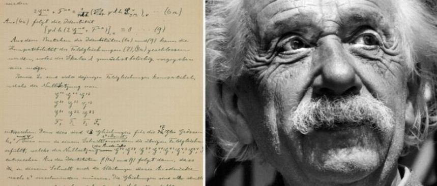 Újabb Albert Einstein-kéziratokkal bővült a jeruzsálemi Héber Egyetem archívuma