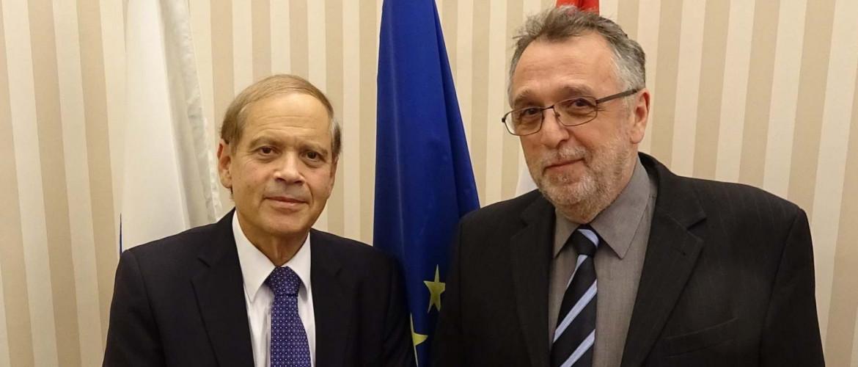 Az új izraeli nagykövet látogatást tett a Mazsihisz elnökénél