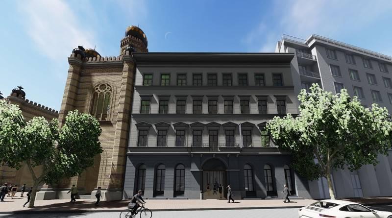 Félig lebontott műemlékekből luxushotel a zsinagóga mellé   Mazsihisz