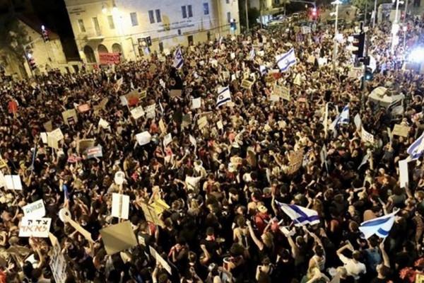 Izrael: Ismét Netanjahu-ellenes tüntetések voltak Izraelben
