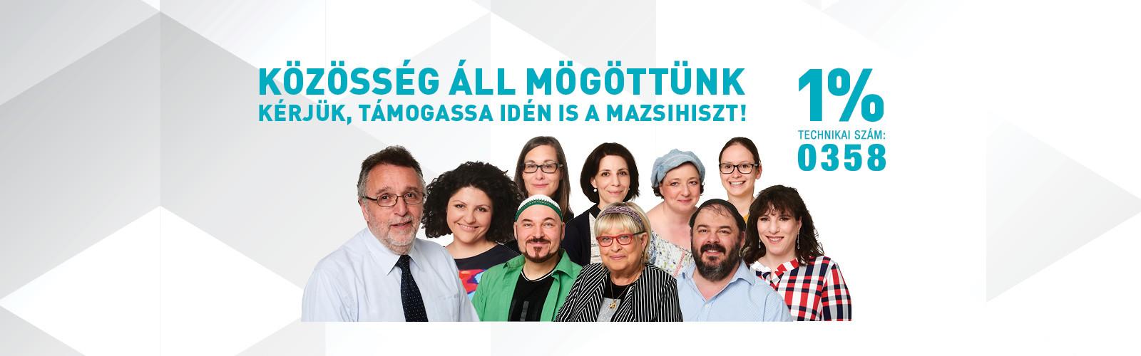 Közösség áll mögöttünk – Támogassuk együtt a Mazsihiszt!