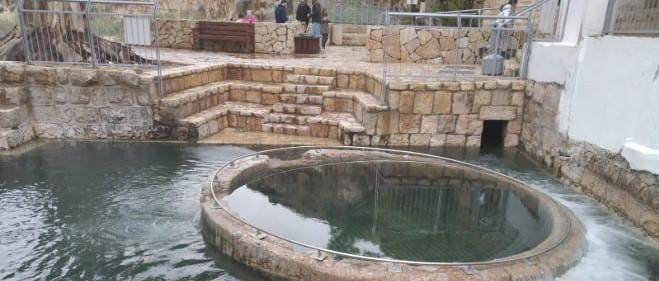 Hála az égnek: az esővíztől újra megtelt az ókori mikve Jeruzsálemben, és úgy néz ki, mint régen