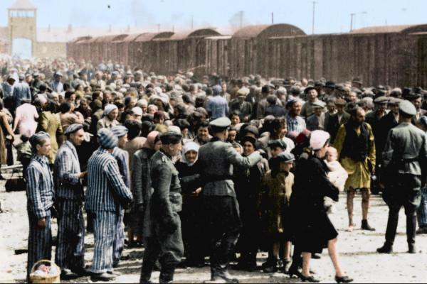 Auschwitz elmondhatatlan rettenete: színesben