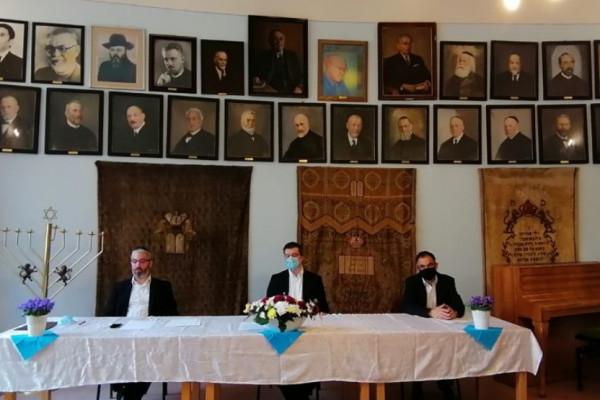Rendhagyó tanévzáró volt a Rabbiképzőn