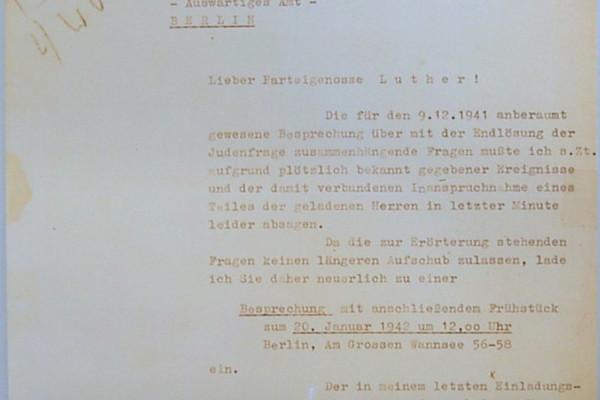 Székesfehérvári megemlékezés a hírhedt wannsee-i konferenciára