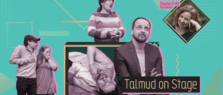 A legősibb zsidó viccekkel jön a Talmud a Színpadon