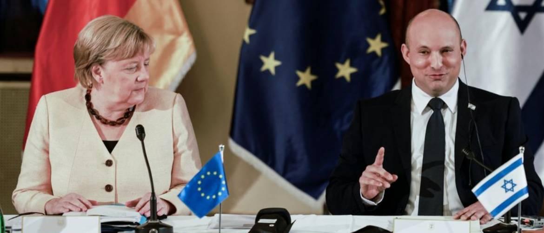 A kapcsolatok fejlesztéséről tárgyalt búcsúlátogatásán Jeruzsálemben Angela Merkel