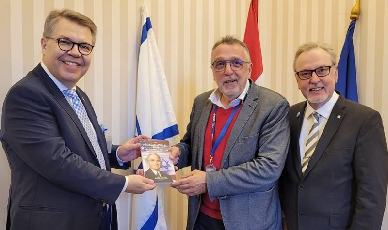 Finn delegáció a Mazsihisz elnökénél | Mazsihisz