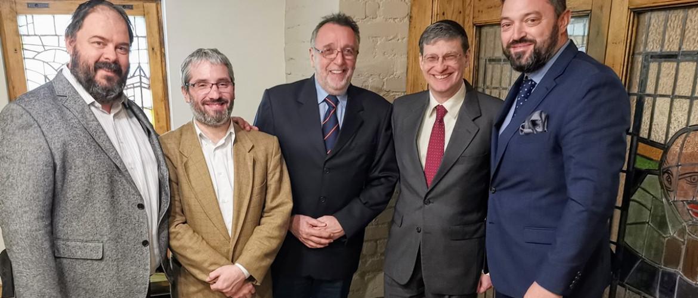 Csúcstalálkozó a Mazsihisznél: világhírű izraeli gondolkodóval tárgyalt Heisler András