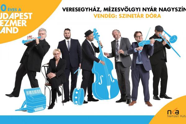 A 30 éves Budapest Klezmer Band a Mézesvölgyi Nyáron lép fel Szinetár Dórával