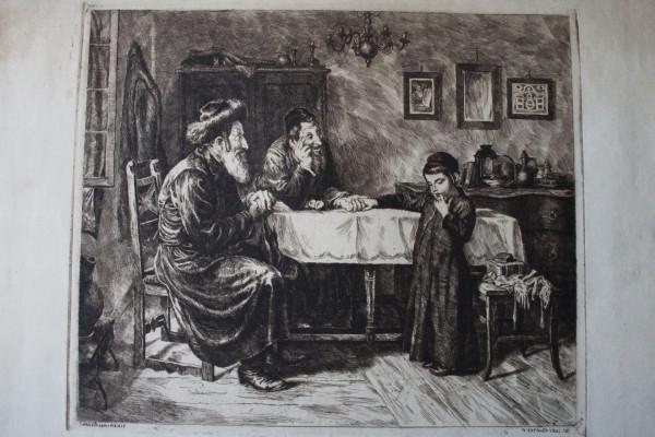 """""""A zsidóknak öltözettyekről mind otthon, mind pedig a zsinagógában"""""""