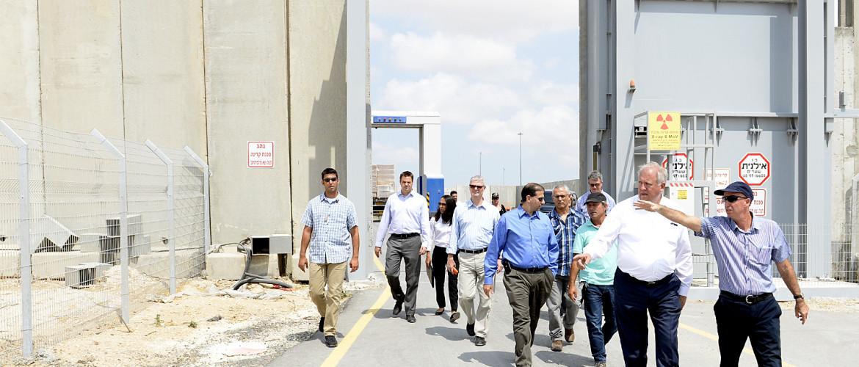 Gyújtogatás miatt mától lezárták a gázai áruforgalmi átkelőt