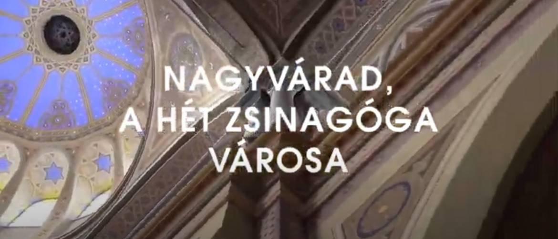 Határon túl: Nagyvárad, a hét zsinagóga városa (rendhagyó séta)