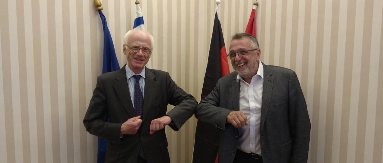 Az új német nagykövet bemutatkozó látogatása a MAZSIHISZ-nél