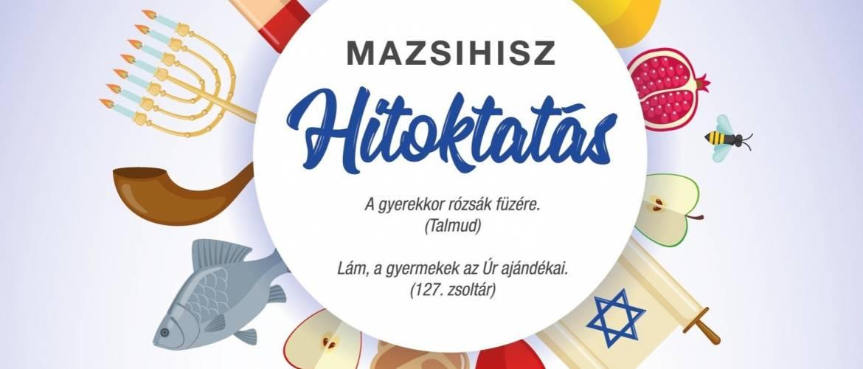 Beszéld el fiadnak – zsidó hitoktatás a Mazsihisz szervezésében