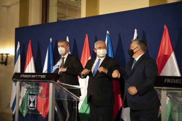 Orbán Viktor Jeruzsálemben: Magyarország és Izrael együttműködik a járvány ellen