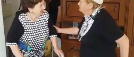 A holokauszt során elszakított barátnők 75 év után találkoztak újra
