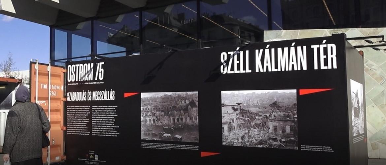 Egy kiállítás képei – 75 évvel Budapest ostroma után