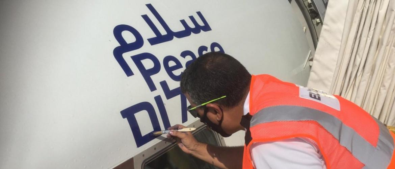 Felszállt Abu-Dzabiba az első közvetlen repülőjárat Izraelből