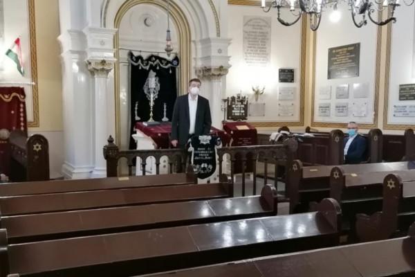 Online tanévnyitót tartottak az Országos Rabbiképző-Zsidó Egyetemen