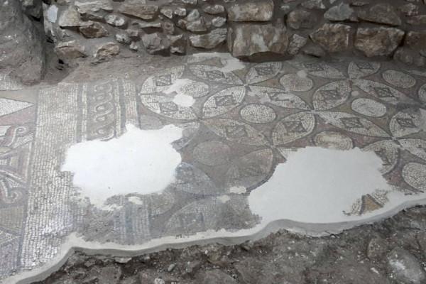Bizánci templom maradványaira bukkantak Izraelben