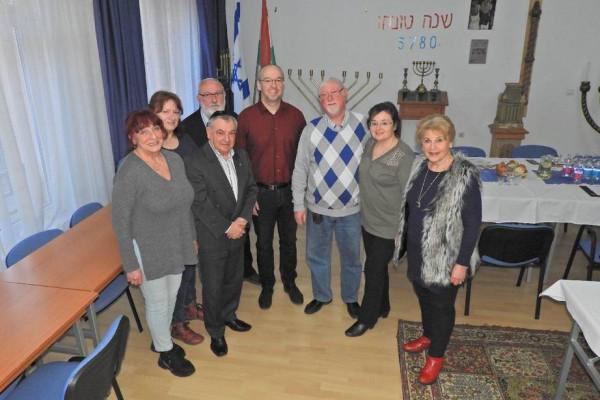 A helyi zsidó hitközség aktívan jelen van Zalaegerszeg életében