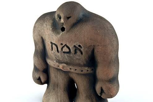 A zsidóság Gólem-motívuma a kortárs irodalomban