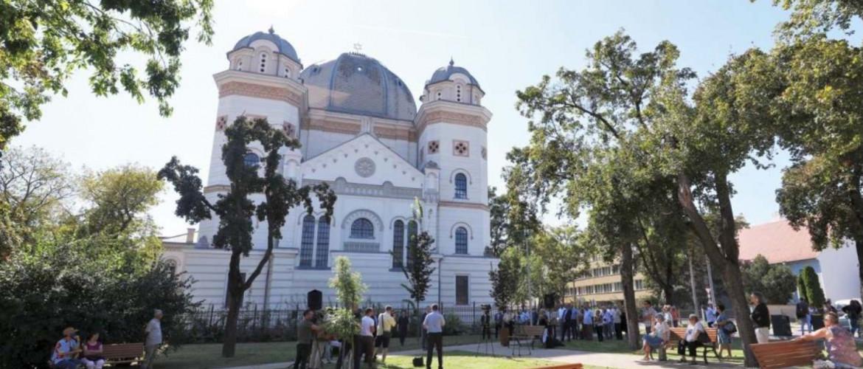 Szabadtéri kiállítással ünnepel a 150 éves győri zsinagóga