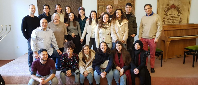 A Jeruzsálemi Héber Egyetem szociális munka szakos hallgatói az OR-ZSE vendégei voltak