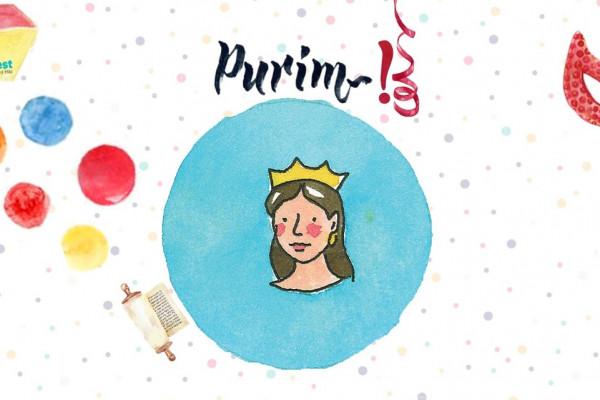 Pazar Családi Purimi buli a Bálint Ház palotájában