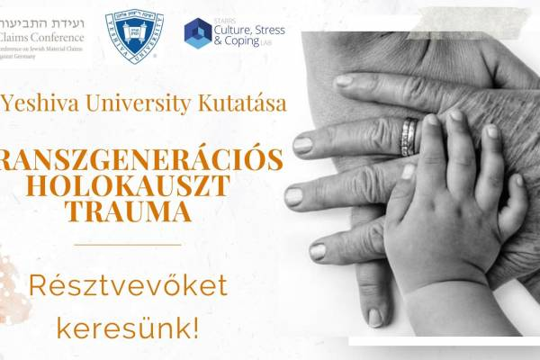 Kutatás indul a holokauszt nemzedékeken átívelő traumájáról