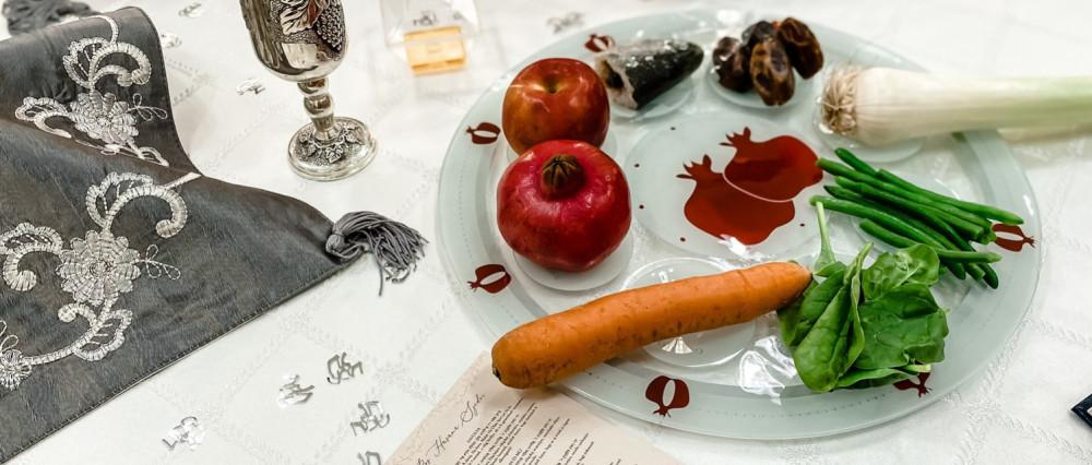 Ros HáSáná vacsora menete, és áldások   Mazsihisz