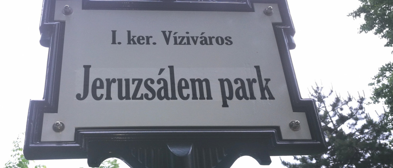 Amatőr nácik a Jeruzsálem parkban