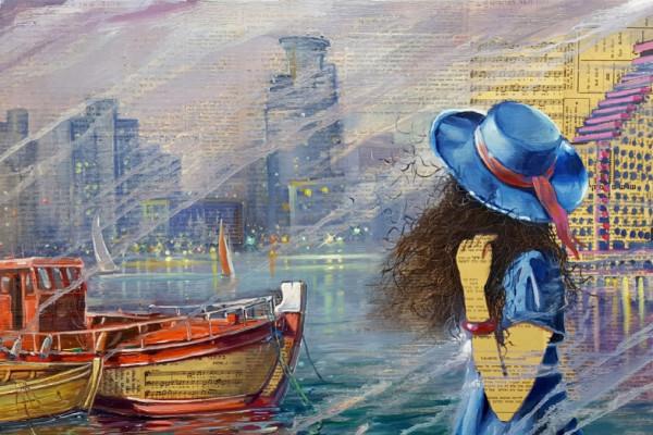 Magyar képzőművészek műveiből nyílt tárlat Tel-Avivban