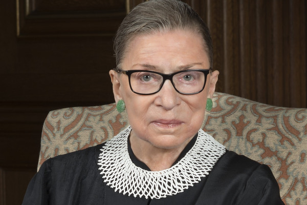 Egy aprócska óriáscádik: Ruth Bader Ginsburg emlékére