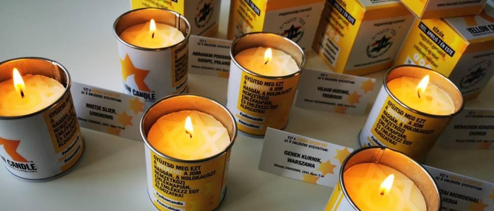 Sárga gyertyák lobogtak a mártírok emlékére – Orbán Viktor is gyertyát gyújtott | Mazsihisz