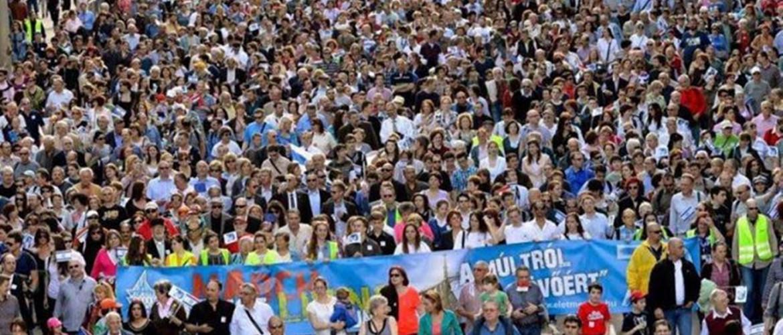 Koronavírus: Elmarad az idei budapesti Élet menete