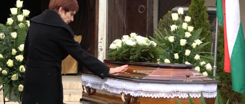 Eltemették Székely Éva olimpiai bajnokot