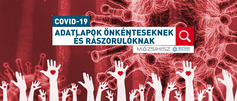Koronavírus: Regisztrációs adatlap segítséget kérőknek és önkénteseknek