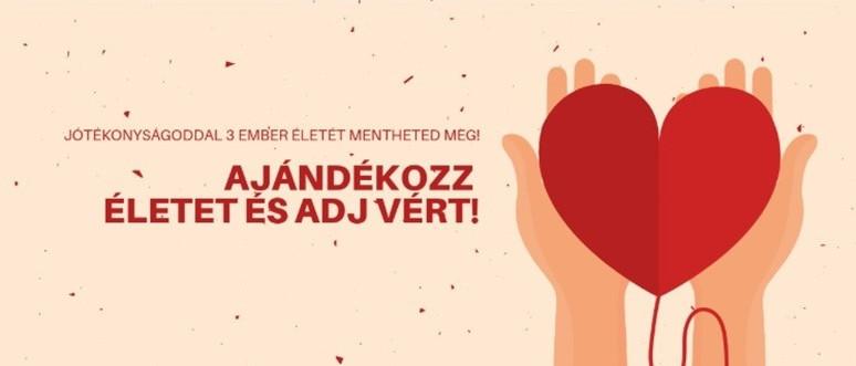 Véradás a Maccabi Európa Játékok Magyar csapatával