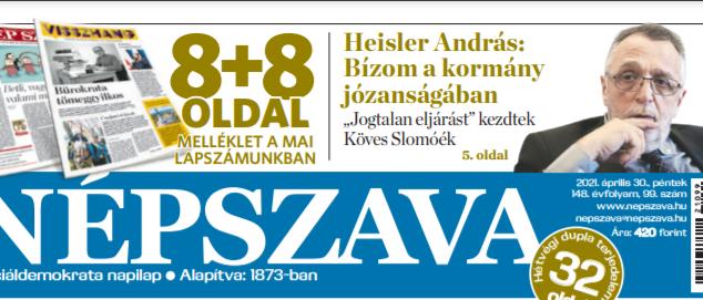 Heisler András: Bízom a magyar kormány józanságában