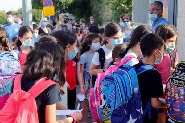 Izraelben a jövő héten visszatérhetnek az iskolákba az alsó tagozatosok