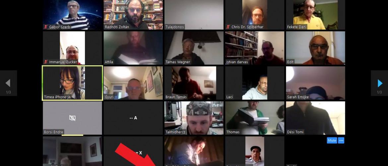Sikeres a Darvas István és Radnóti Zoltán által szervezett virtuális ima
