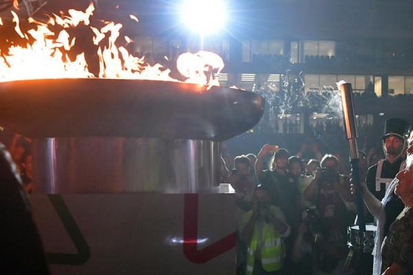 Keleti Ágnes és Polgár Judit lobbantották fel a Maccabi Európa Játékok lángját